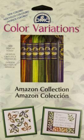 DMC Color Variations