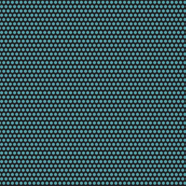 Uppercase- Turquoise Perforated