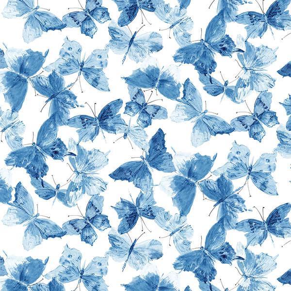 Blue Small Butterflies