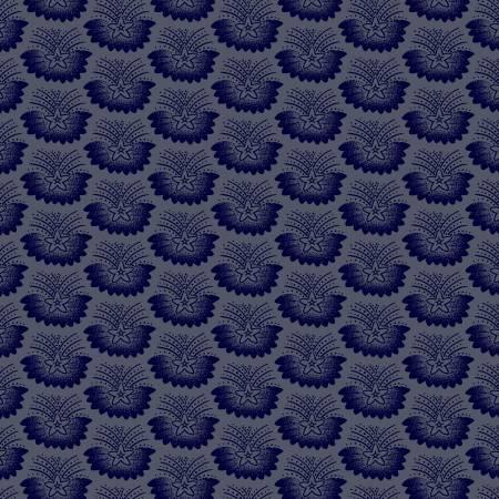 Freedom Bound Cadet Blue Flying Stars 41979-6