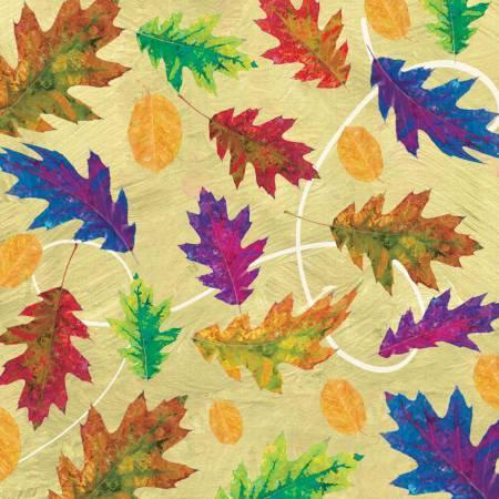 Autumn Hues - Green Leaves