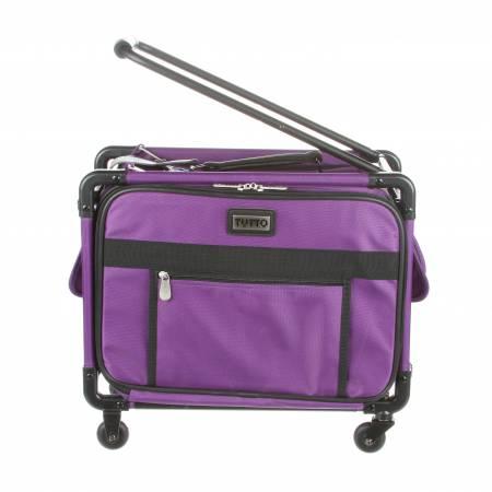 Tutto Machine Case On Wheels Small 17in Purple