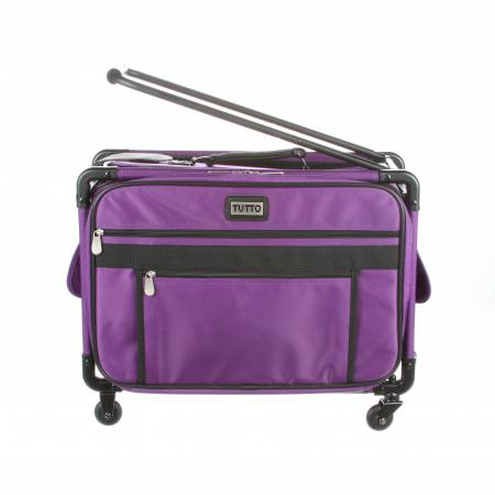 Tutto Machine Case On Wheels Medium 20in Purple