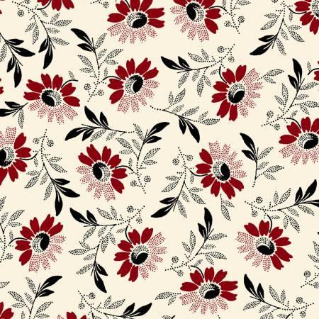 Sylvie 42233 1 White Medium Floral