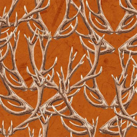 Windham Fabrics - Forest by Whistler Studios -Russett Antlers