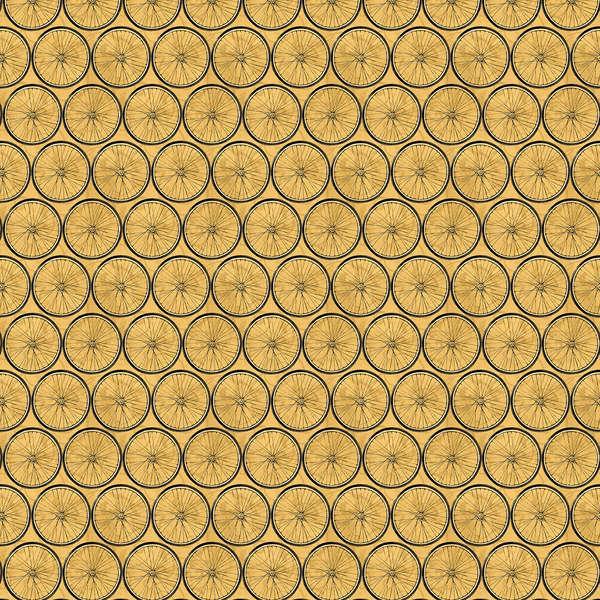 Gold Wheel Grid