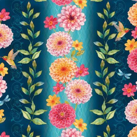 Floral Border Stripe