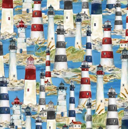 Blue Packed Lighthouses 42444-491