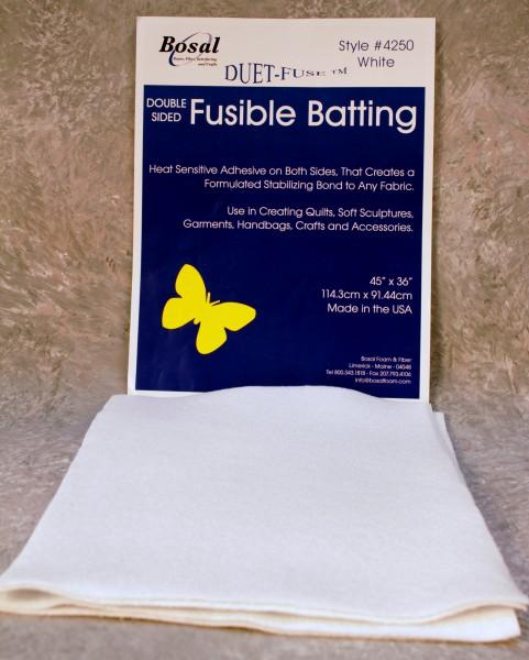 Duet Fuse Double Sided Fusible Batting 7oz 45in x 36in