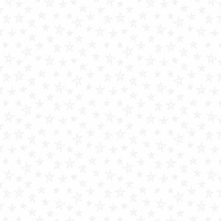 White on White Sketched Stars-41-1