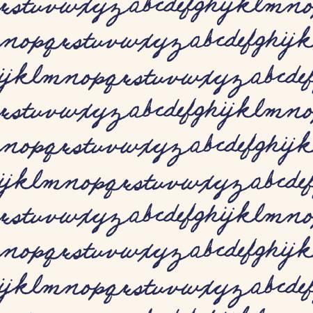 42642-1 Indigo Alphabet