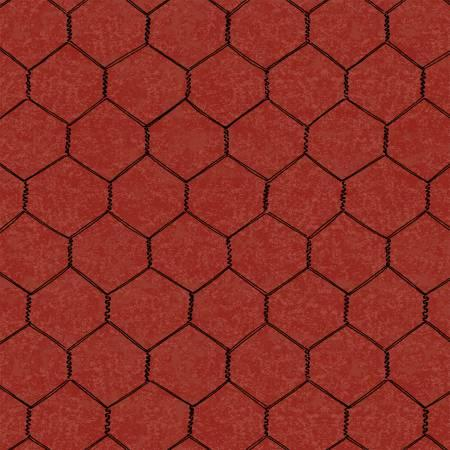 Chicken Wire Red - large