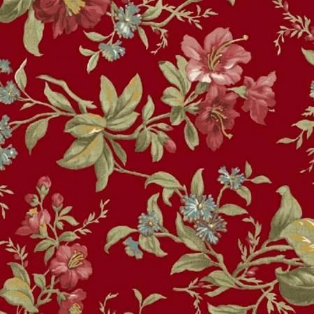 Legendary Loves - Red Main Floral