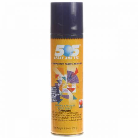 505 Spray & Fix  Fabric Adhesive 12.4oz (ORMD)