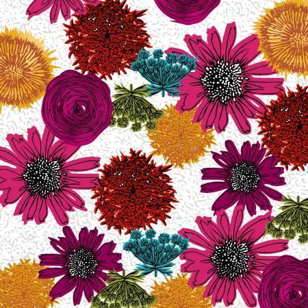 Magenta Multi Flower