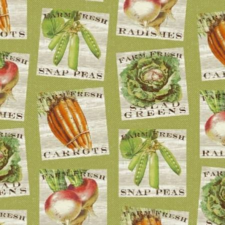 Market Place<br>43202-3 Seed Packets Green