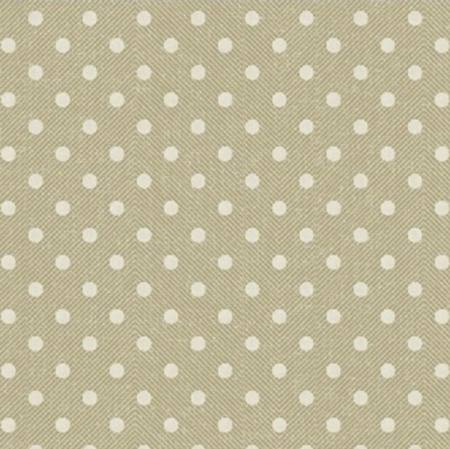 White Dots on Tan:  Market Place by Sue Schlabach for Windham Fabrics