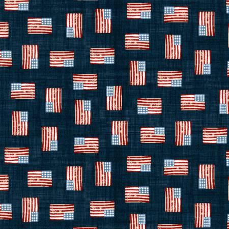 F-CB-STE-ART-05 Studio E-ART - All American Road Trip-05-77- Blue w/ USA flags