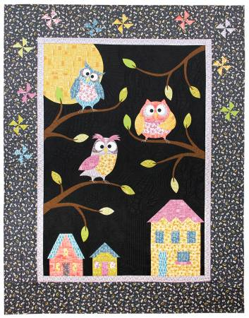 Quilt Kit Whoo's Who Owlbert & Friends 58in x 75in