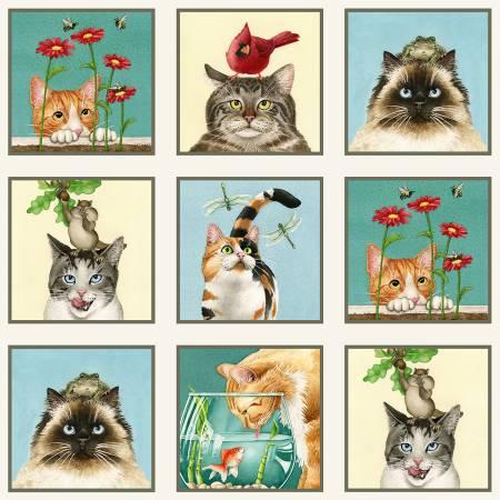 Curious Cat Panel