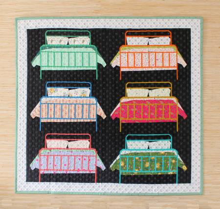 Quilt Kit Bungalow Snooze 41-1/2in x 44-1/2in