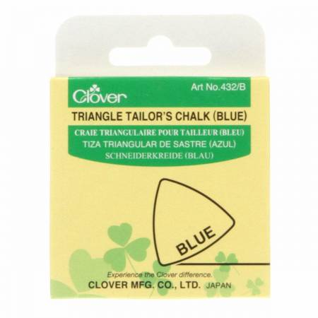 Clover Triangle Tailor's Chalk Blue