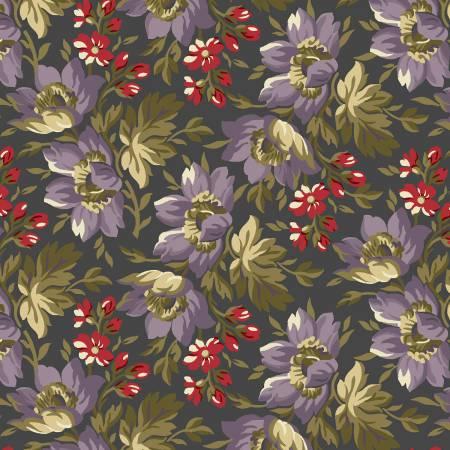 2351 Grey Floral