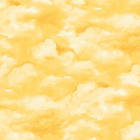 Adventure Awaits<br>Clouds Yellow - 43446-3