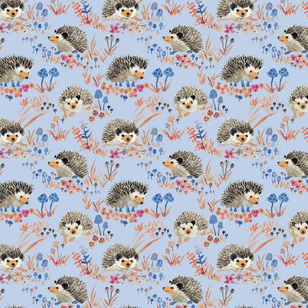 Blue Hedgehogs