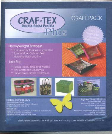 Craf-tex Plus Double Sided Fusible Non-Woven Heavyweight