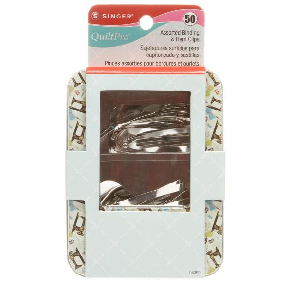 Assorted Binding & Hem Clips (#4333)