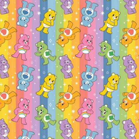 Multi Care Bears Rainbow