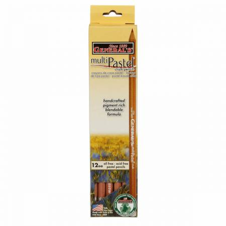 Pastel Chalk Pencil Canary Yellow - 1pc