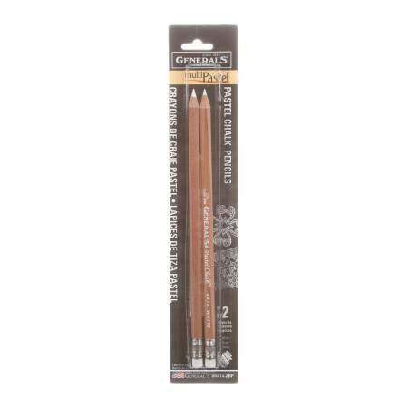 White Chalk Pencil2pk