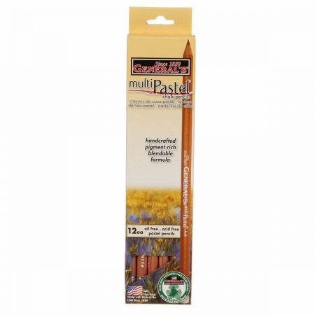 General's Pastel Chalk Pencil -  White