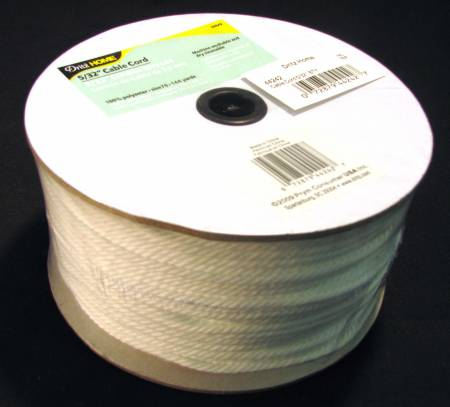 Cable Cord By-The-Yard Polyester 5/32in Size 70 144yds