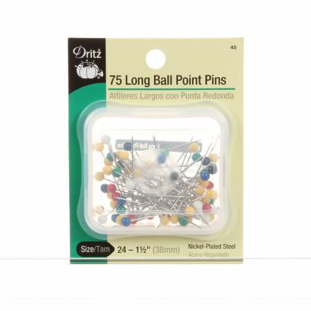 Extra Long Ball Point Pin Size 24 1.5in 75ct