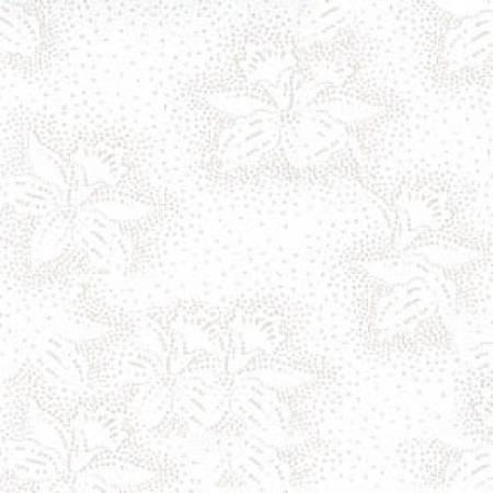 White/White Medium Flowers