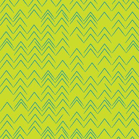 Modern Marks Herringbone in Lime