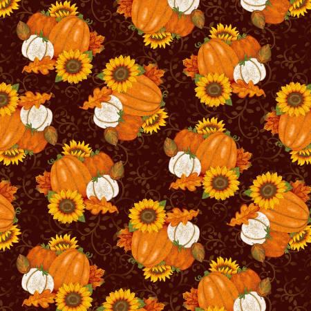 Brown Tossed Pumpkins