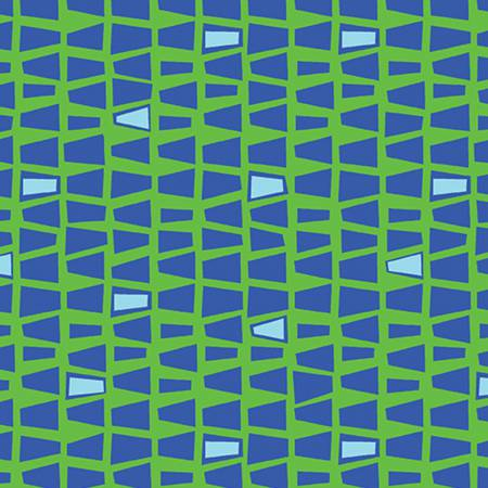 Green/Blue Quirky Triangles
