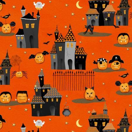 Orange Cheeky Village