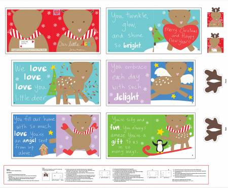 Huggable and Loveable Holiday Book Panel