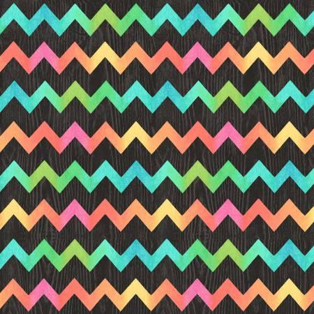 Butterfly Dream - Black Zig Zag Texture 4711-99