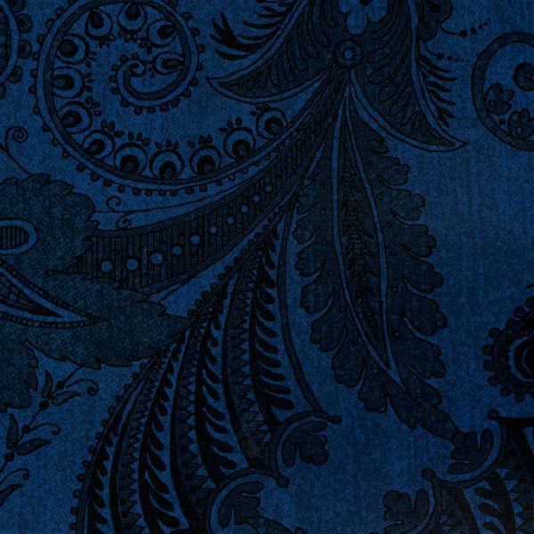 Dark Blue Marrakesh 108in Wide Backing