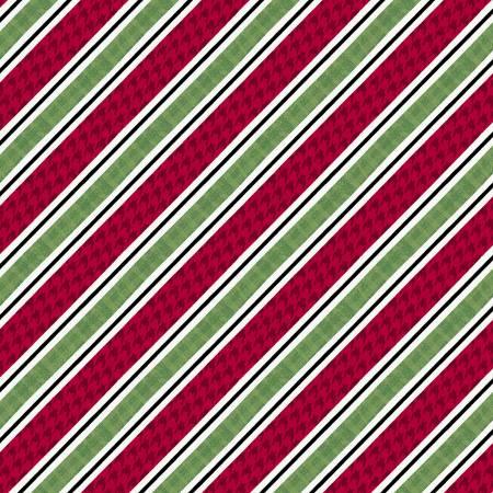 Studio E Holly Jolly Christmas 4754-86 Multi Diagonal Stripe