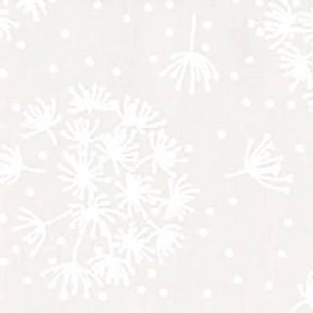 White/White Dandelions