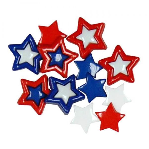 Favorite Findings Patriotic Stars Multi