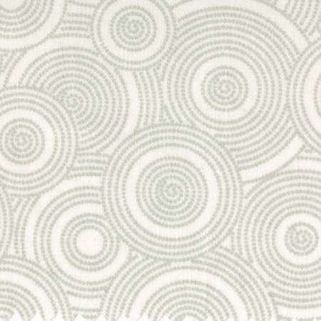 108 White with Gray Circles