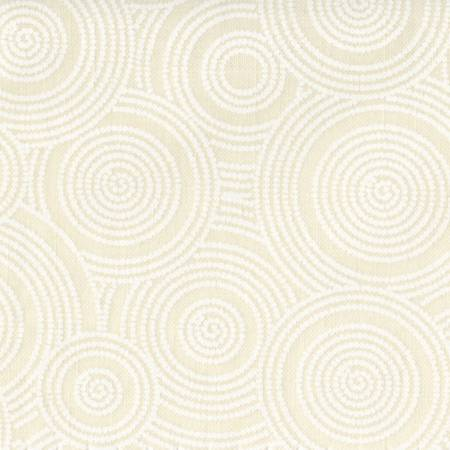 108in Basic Pallette White/Tint Dotted Circles